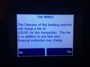 Prowizja bankomat Revolut