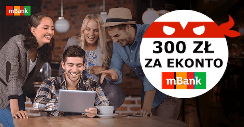 mabnk 300 zł ebroker promocja
