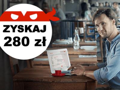 Konto Jakie Chce premia 280 zł