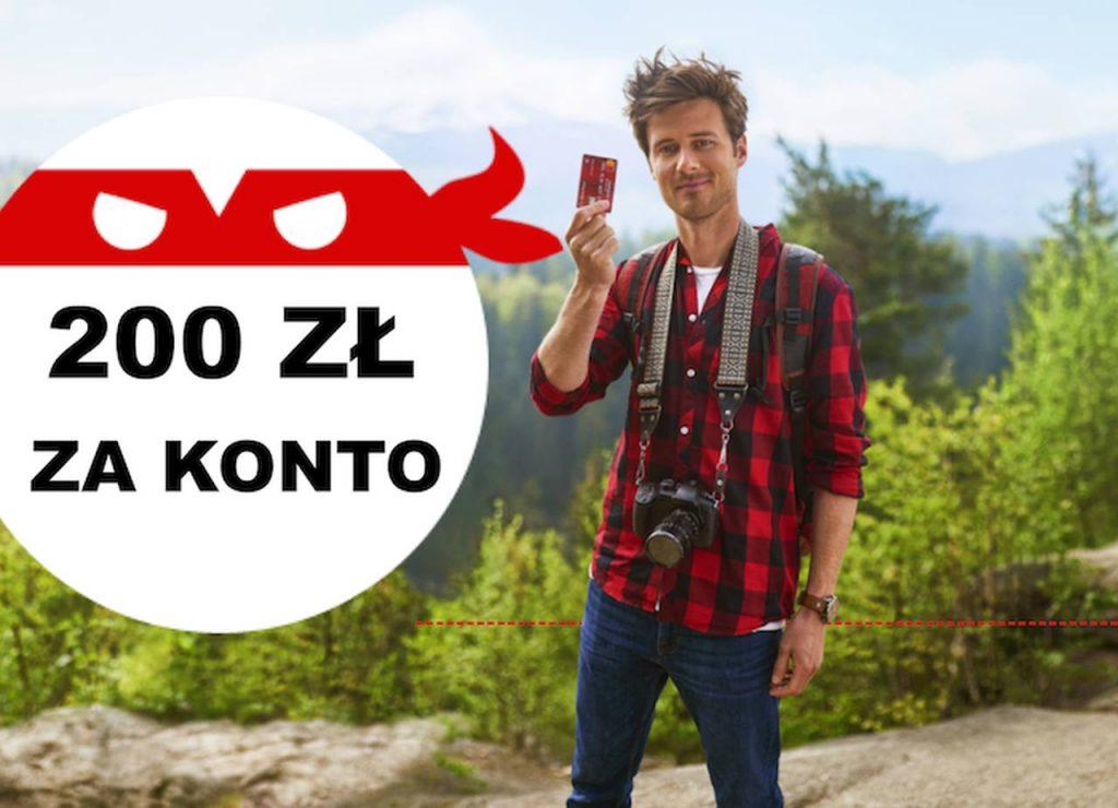 PRemia 200 zł za konto Pekao