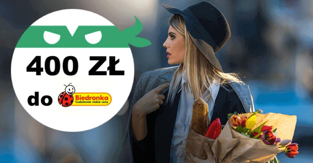 BNP biedronka 400 zł